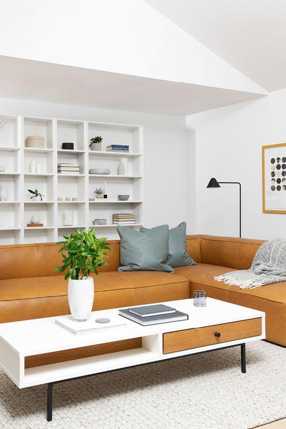 orange living room furniture 16