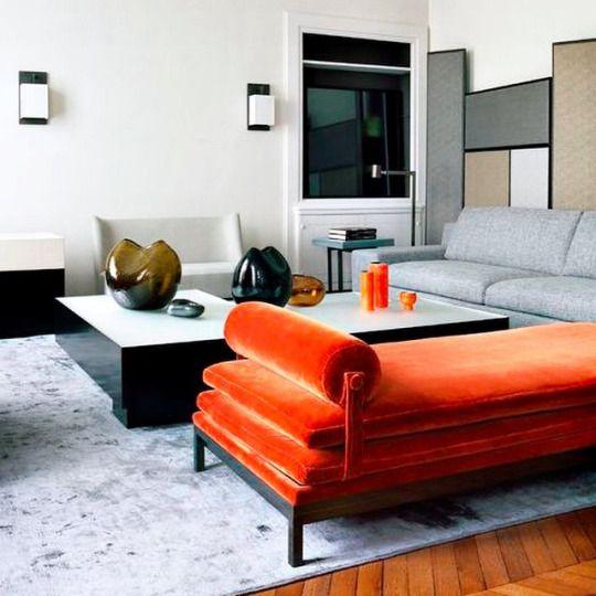 orange living room furniture 17