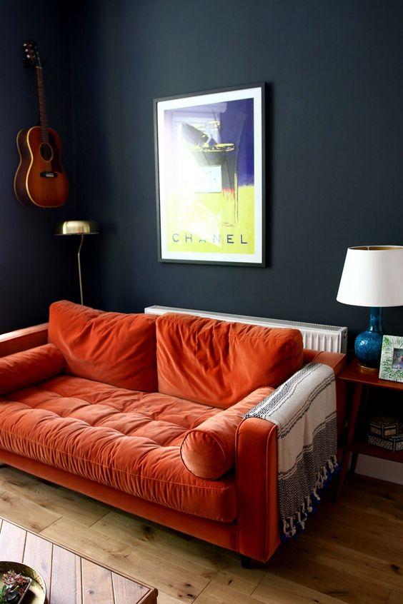 orange living room furniture 18