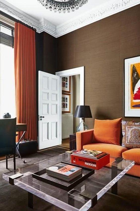 orange living room furniture 19
