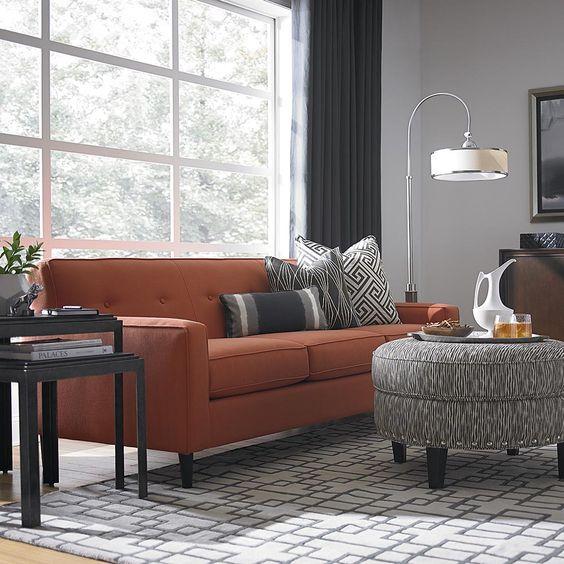 orange living room furniture 20