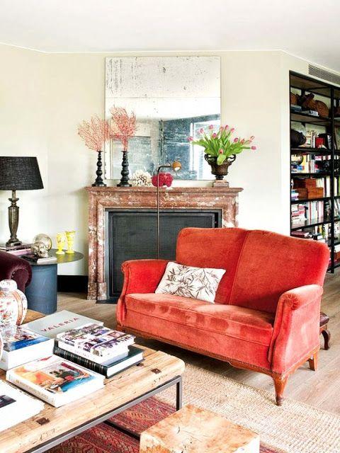 orange living room furniture 24