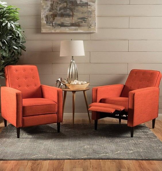 orange living room furniture 3