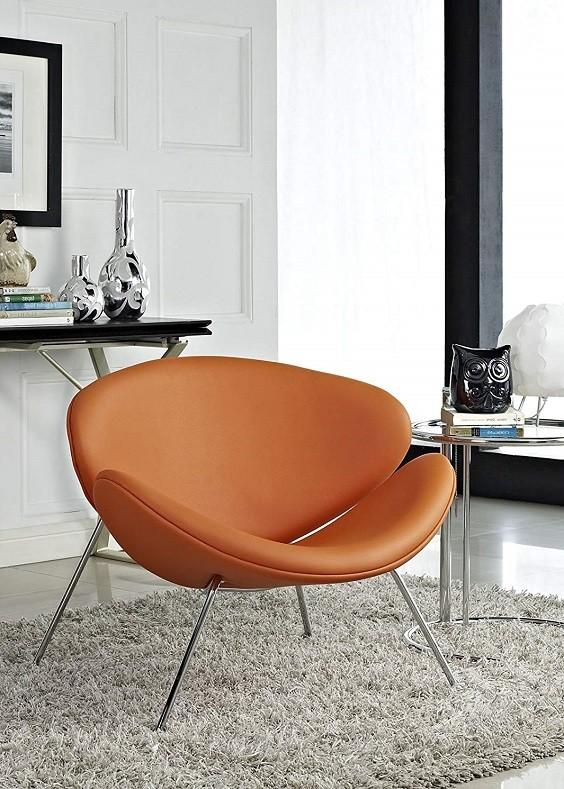 orange living room furniture 8