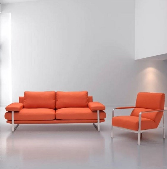 Orange Living Room Furniture: 10+ Most Recommended Products ...