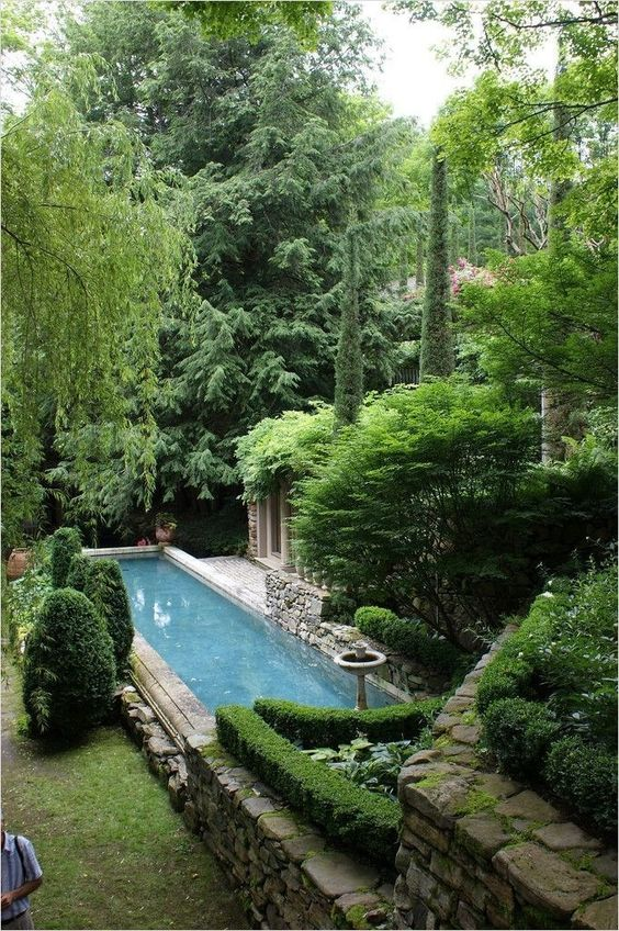 swimming pool landscaping 12
