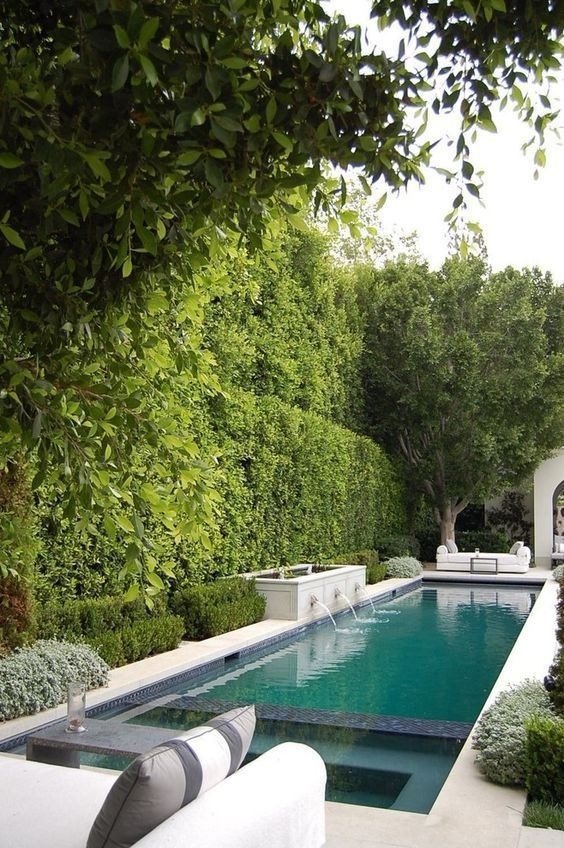 swimming pool landscaping 18