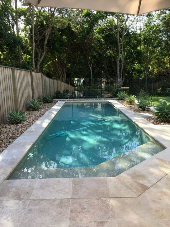 swimming pool landscaping 22