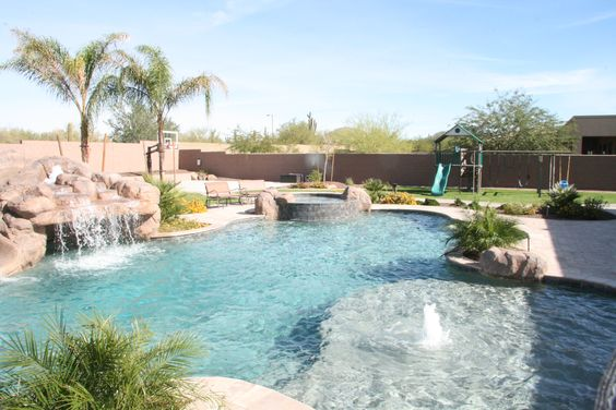 swimming pool landscaping 5