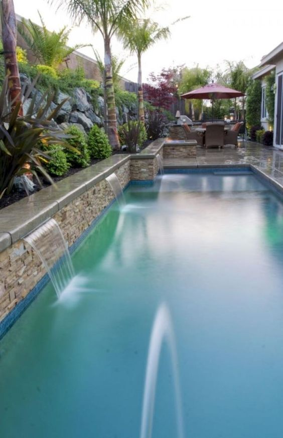 swimming pool landscaping 6