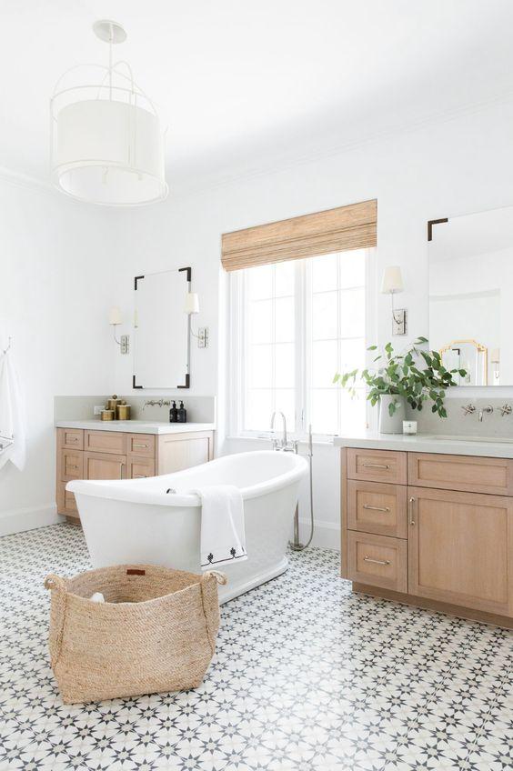 transitional bathroom 11
