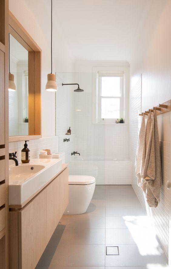 transitional bathroom 13