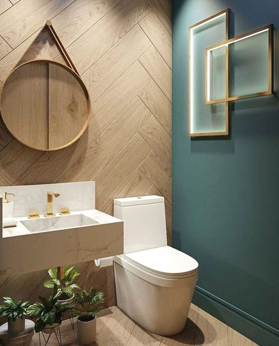 transitional bathroom 16