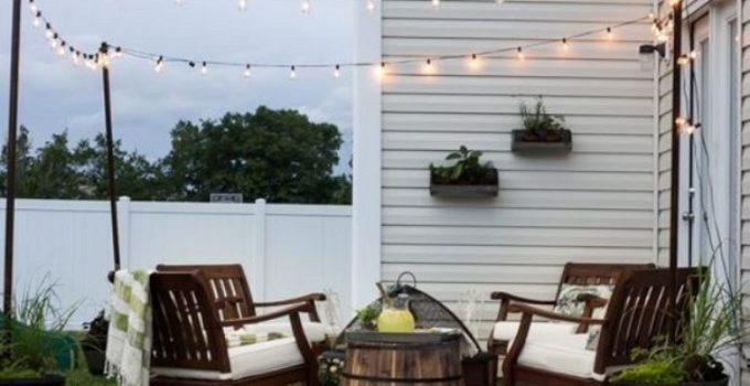 Small Patio Design feature