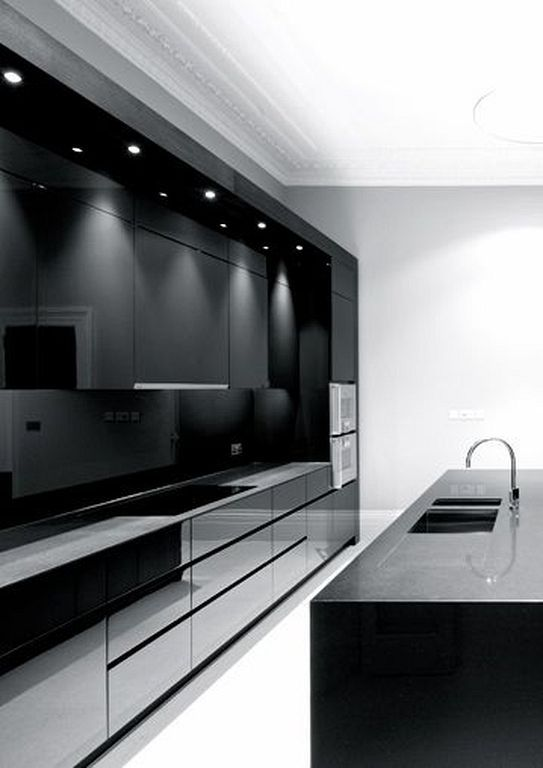 black kitchen ideas 1