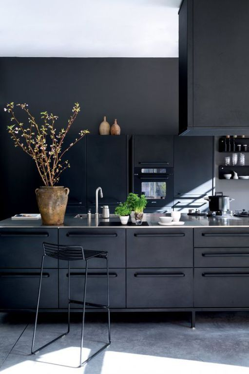 black kitchen ideas 15