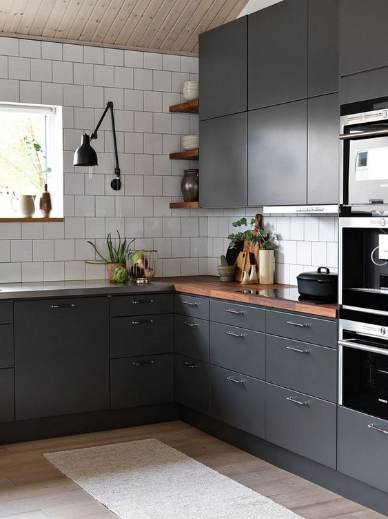 black kitchen ideas 17
