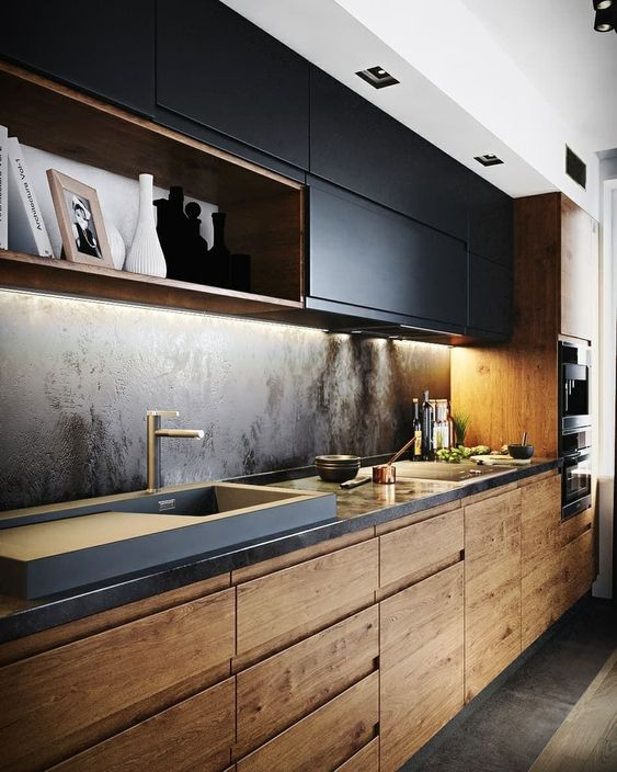 black kitchen ideas 22