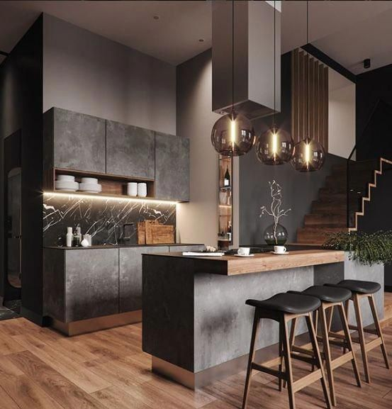 black kitchen ideas 24