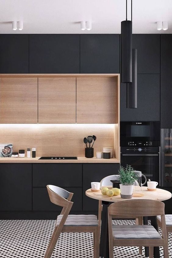 black kitchen ideas 5