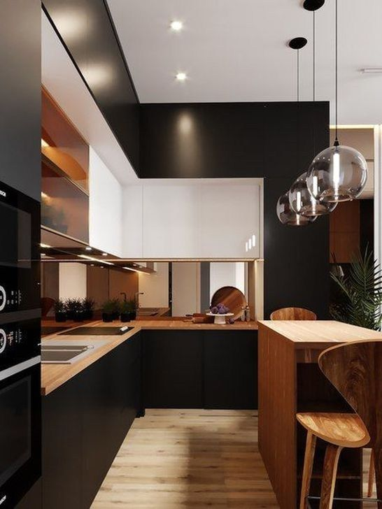 black kitchen ideas 6
