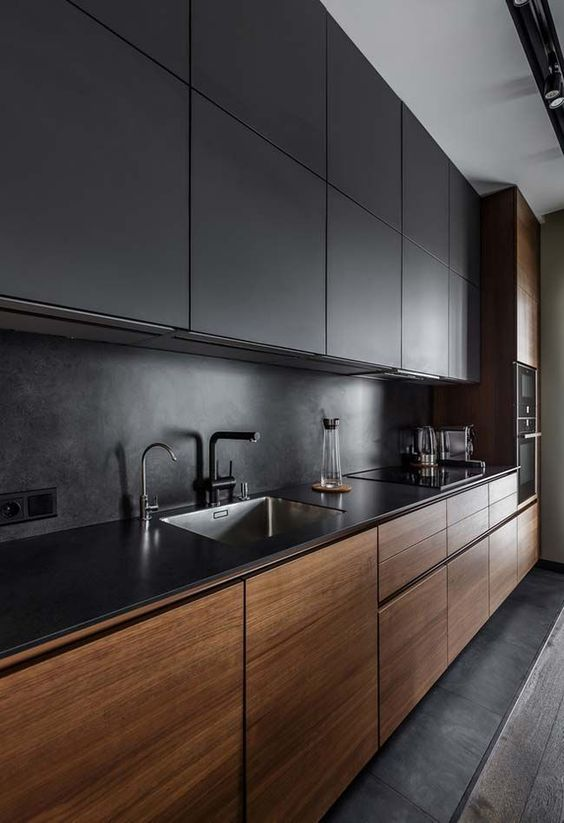 black kitchen ideas 7