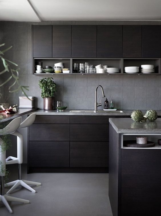 black kitchen ideas 8