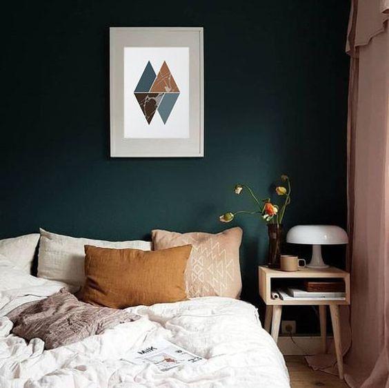 Dark Bedroom Ideas: Stylish Girly Decor