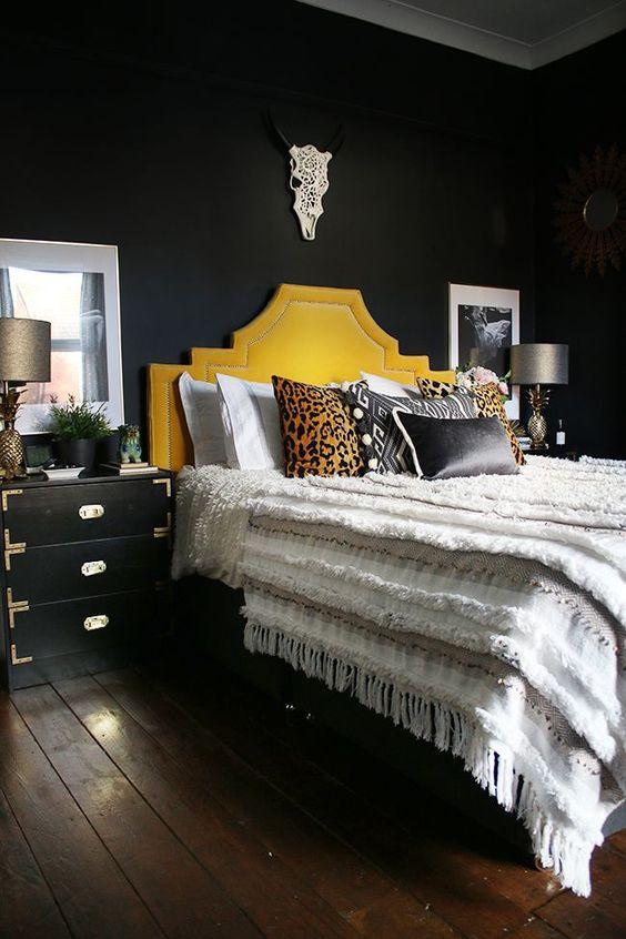 Dark Bedroom Ideas: Earthy Dark Decor
