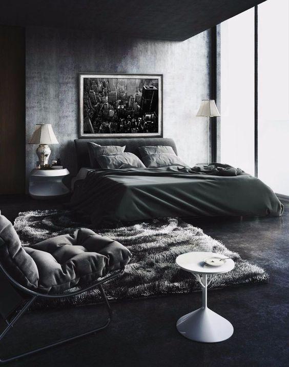 dark bedroom ideas 17