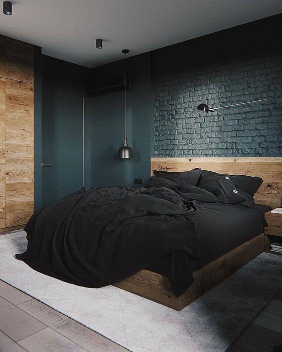 Dark Bedroom Ideas: Warm Rustic Decor