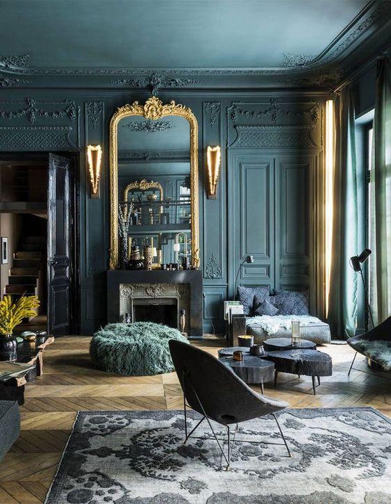 dark living room 15