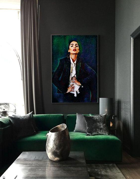 dark living room 17