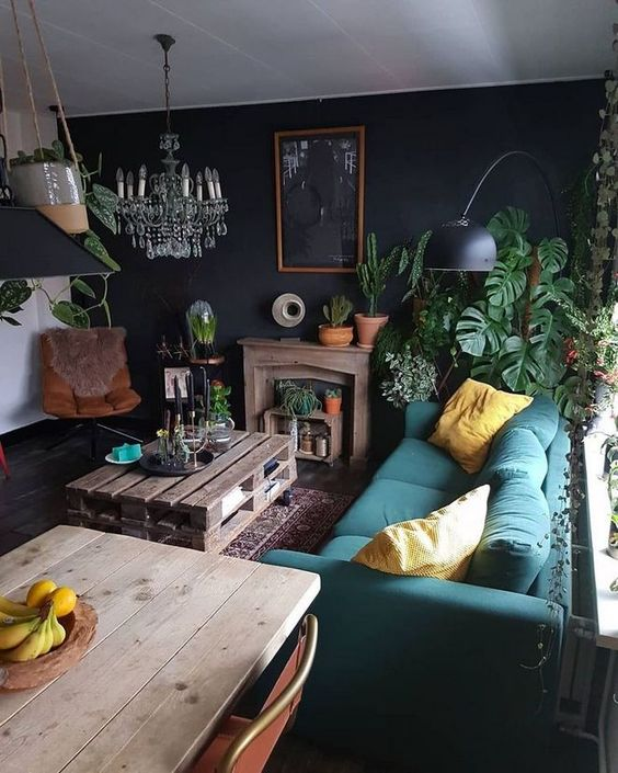 dark living room 21