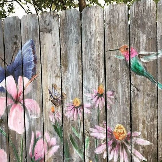 fence painting ideas 10