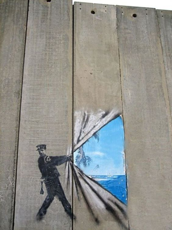 fence painting ideas 12