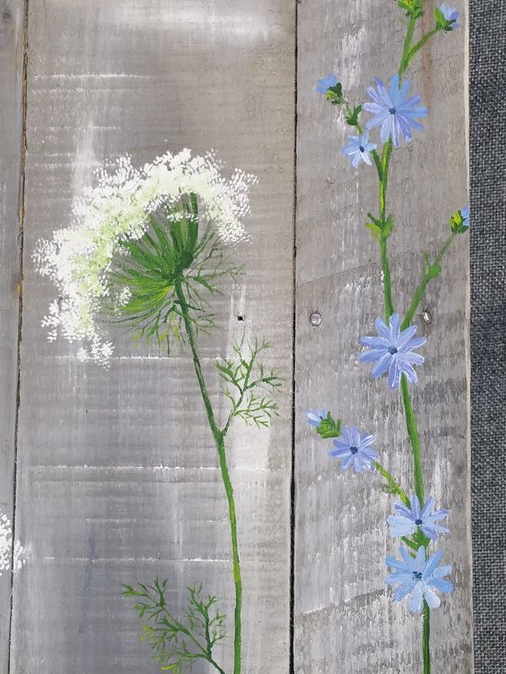 fence painting ideas 13