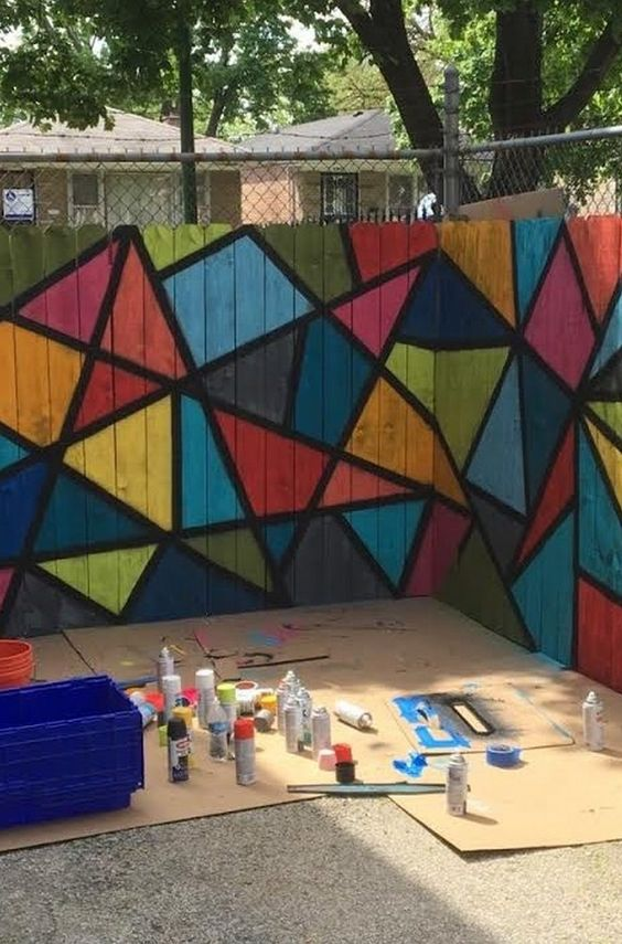 fence painting ideas 15