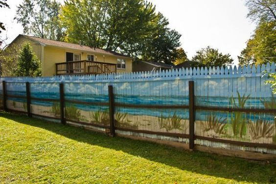 fence painting ideas 19