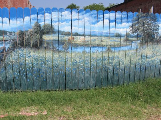 fence painting ideas 20
