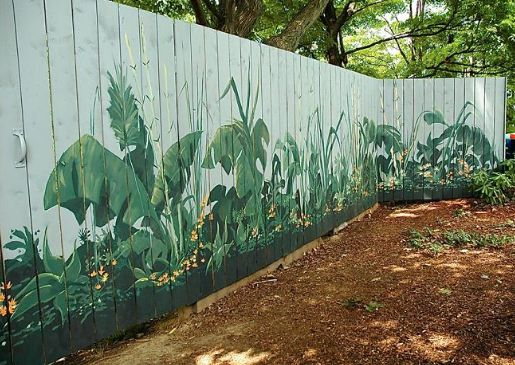 fence painting ideas 21