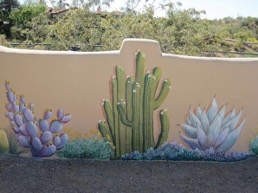 fence painting ideas 22