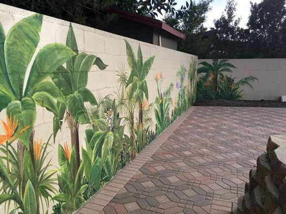 fence painting ideas 3