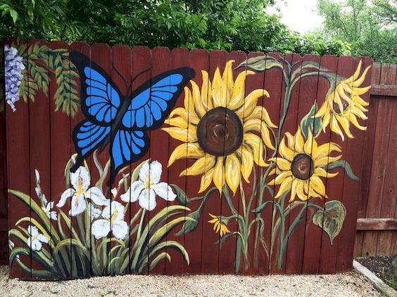 fence painting ideas 4