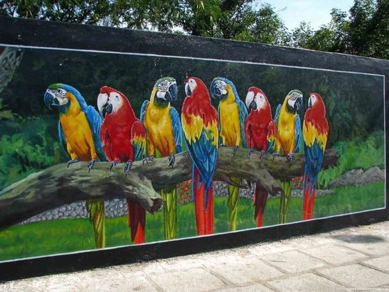fence painting ideas 7