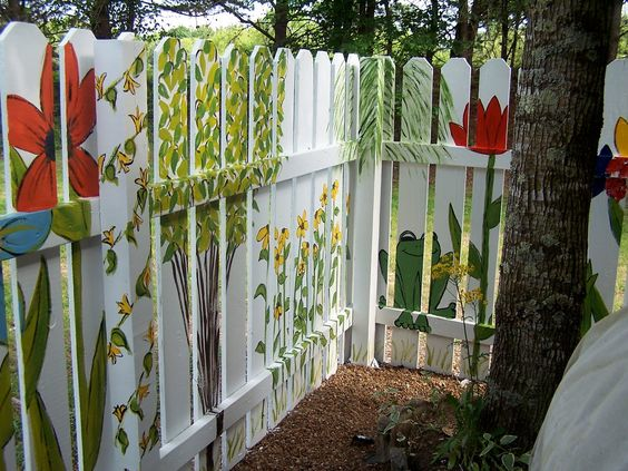 fence painting ideas 9