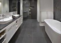 grey bathroom ideas feature