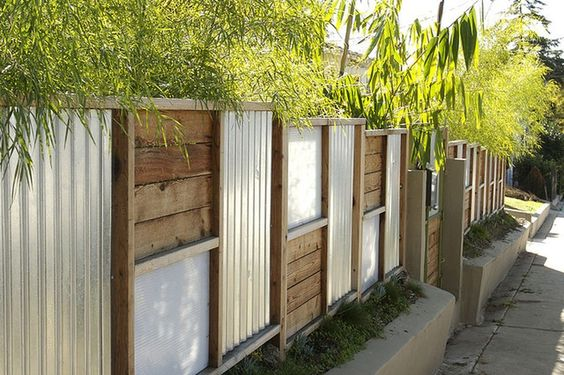 metal fence ideas 10