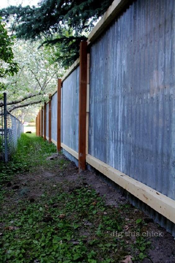 metal fence ideas 13