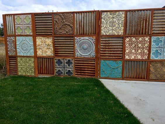 metal fence ideas 14